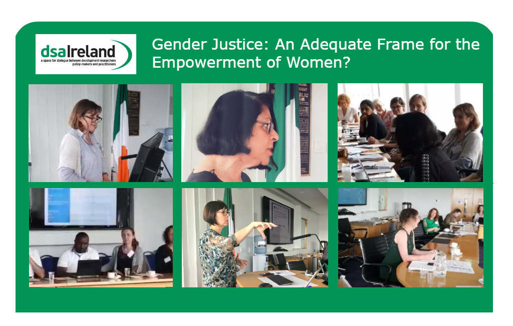 Gender Justice image collage